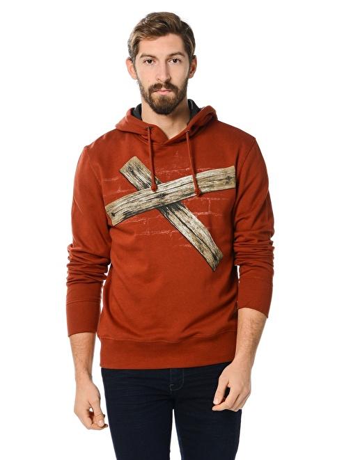 Kaft Sweatshirt Kırmızı